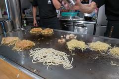 monjayaki, street food, food, dish, cuisine, okonomiyaki,