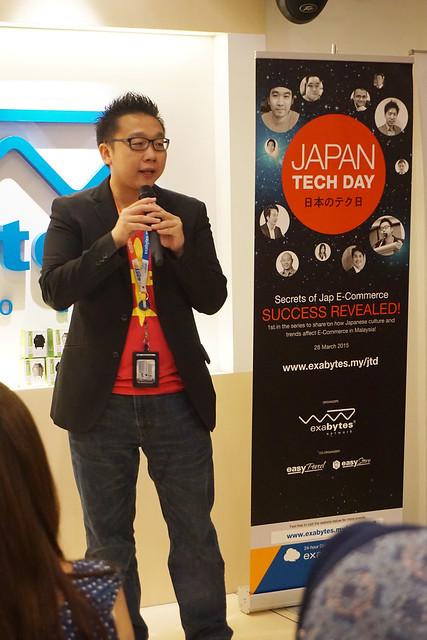 Chan Kee Siak at Japan Tech Day 2015