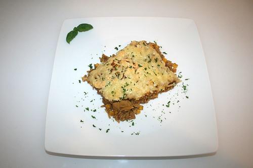 """52 - Turkey rice casserole """"Simbali"""" - Served / Puten-Reisauflauf """"Simbali"""" - Serviert"""