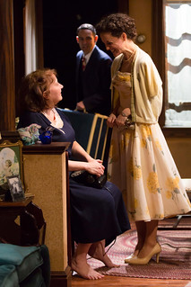 Adrianne Krstansky, Nael Nacer, and Marie Polizzano in the Huntington Theatre Company's production of William Inge's COME BACK, LITTLE SHEBA, directed by David Cromer, playing March 27 – April 26, 2015, South End / Calderwood Pavilion at the BCA. Photo: T. Charles Erickson.