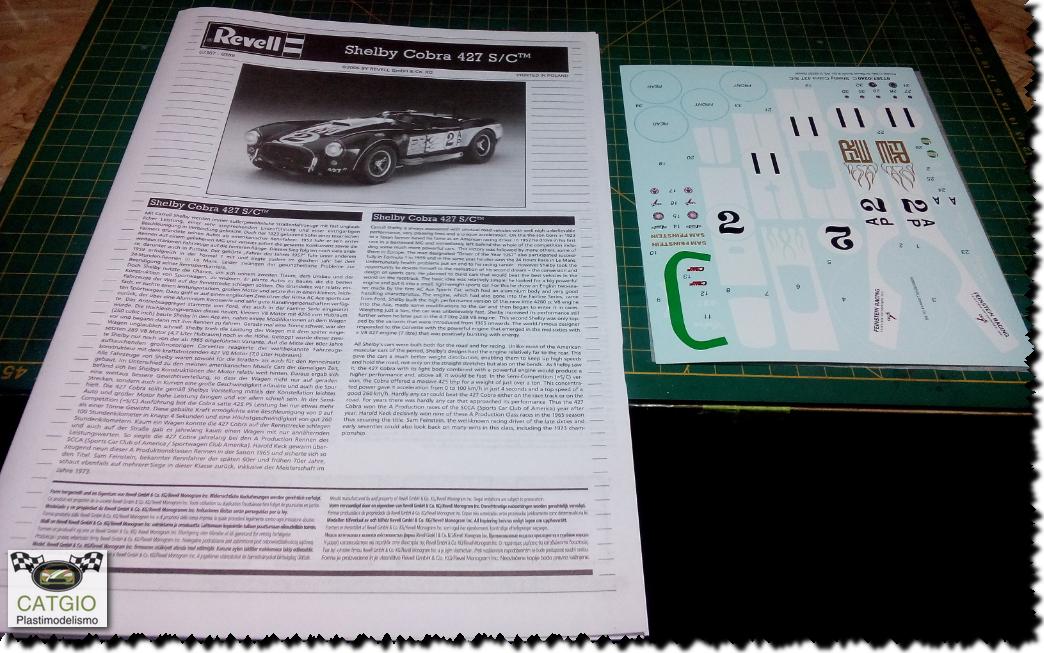 Shelby Cobra S/C - Revell - 01/24 - Finalizado 24/04 16826767420_38a3abfd1f_o