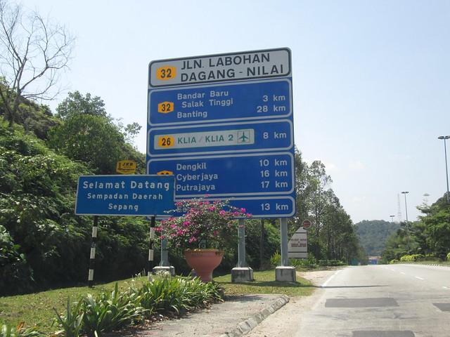 Signboard KLIA