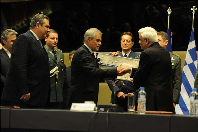 Επίσημη επίσκεψη του Προέδρου της Δημοκρατίας κ. Προκόπη Παυλόπουλου στο ΥΠΕΘΑ