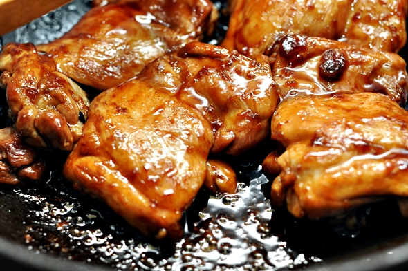 5-Ingredients Honey Soy Chicken | www.fussfreecooking.com