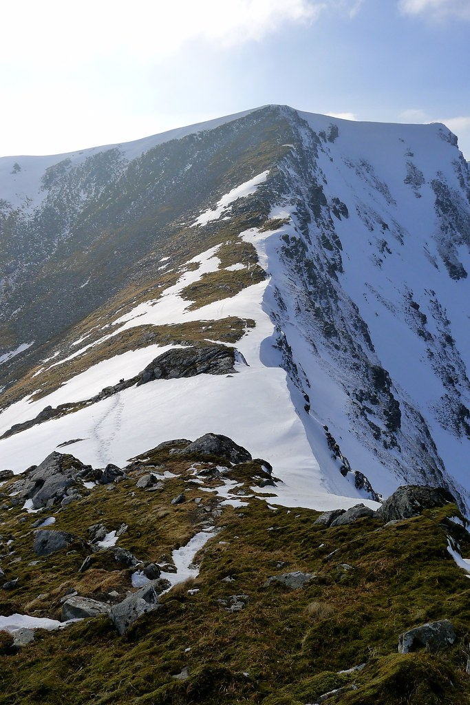 The ridge from Sgurr Choinnich