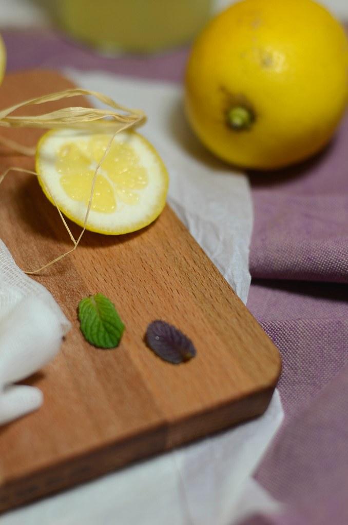 Limonade à la fleur d'oranger