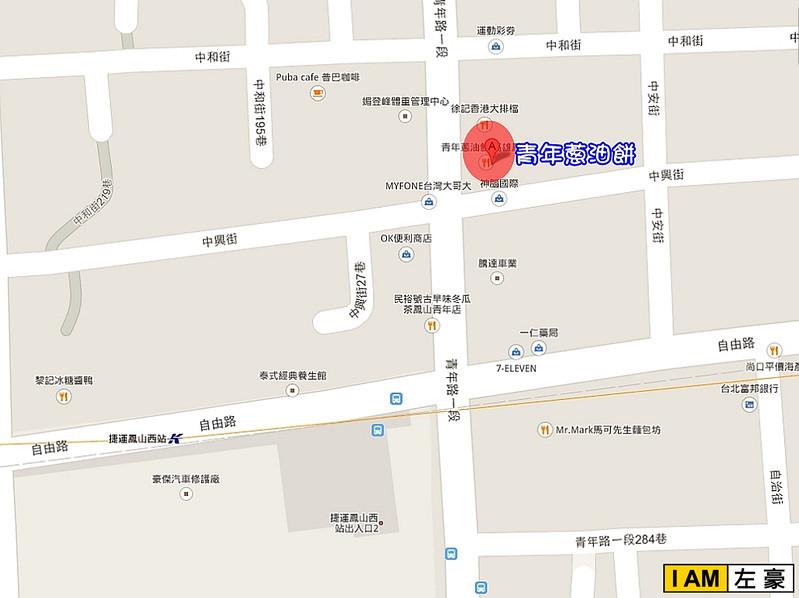 鳳山 青年 聽障蔥油餅 地圖-1