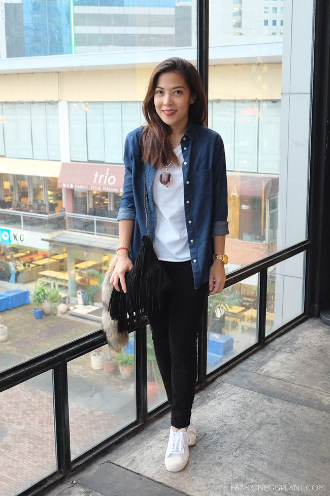 Ootd College Tomboy Giveaway Fashion Eggplant