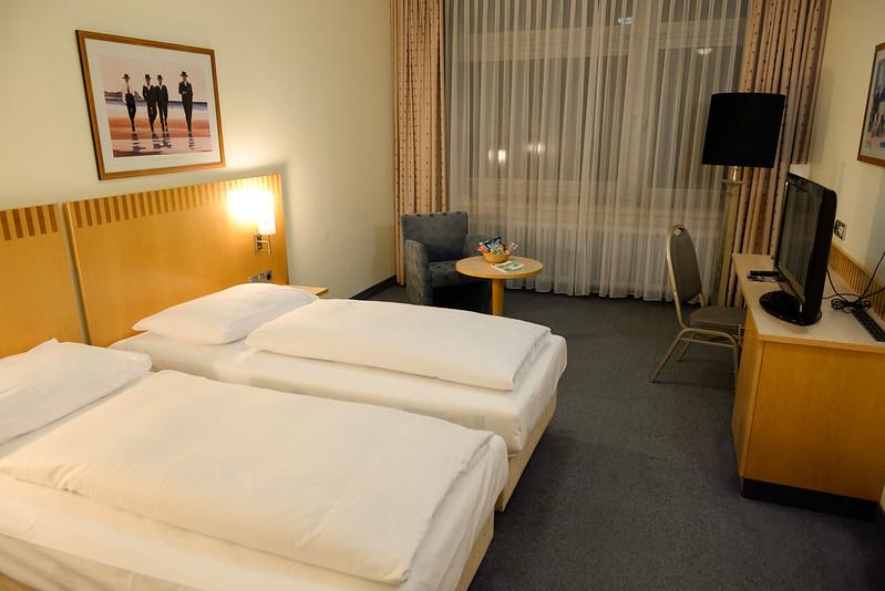 【房間】空間相當寬敞,這是目前為止住到最高級的房間了