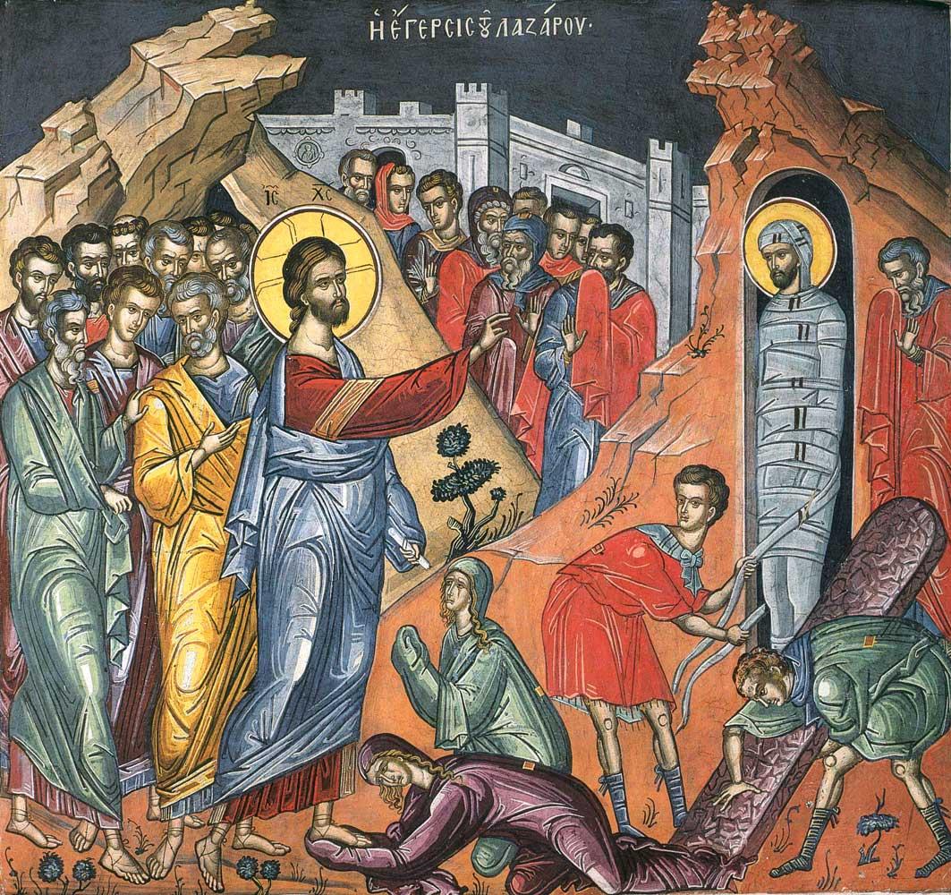 invierea Sfantului Lazaros