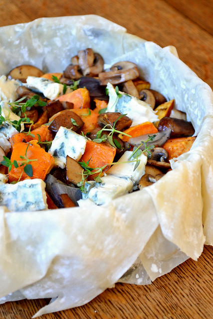 Sweet Potato Filo Pie Recipe