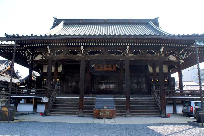 本堂/妙傳寺(Myoden-ji Temple / Kyoto City) 2015/03/17 04799