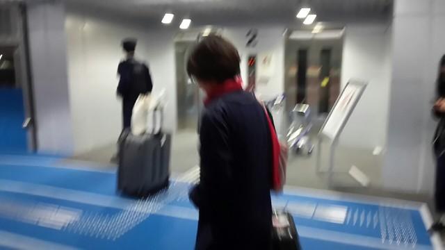成田機場第三航廈二樓外通道電梯