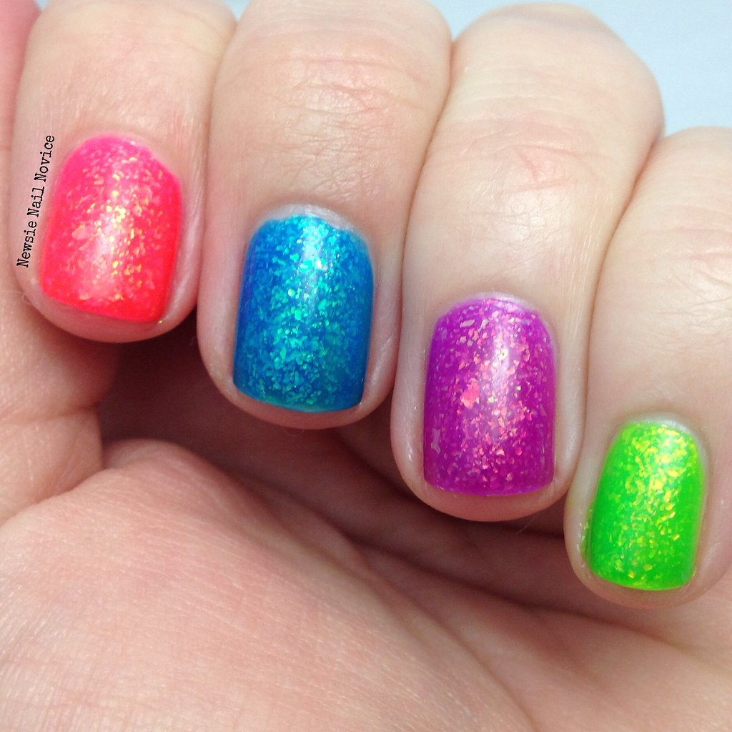 Opalescent Nail Polish: Smitten Polish Opalescent Elements Collection