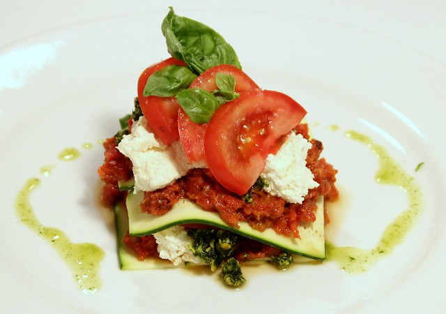 Heirloom Tomato Lasagne 1