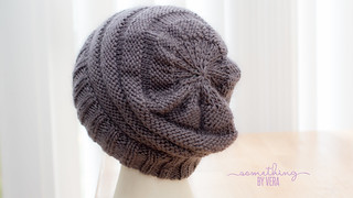 Gray Knit Beanie
