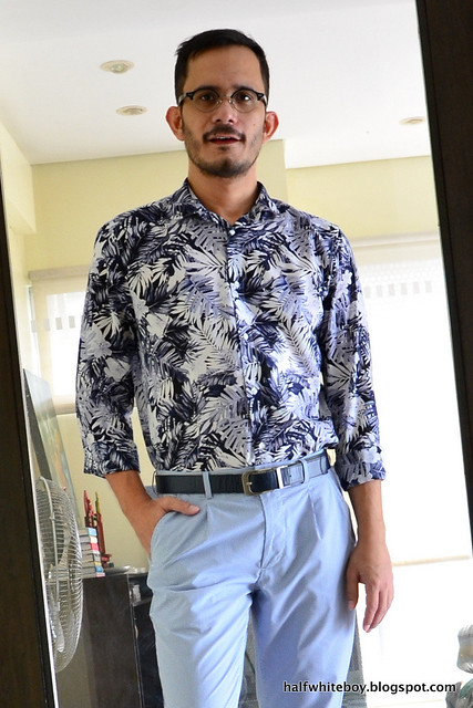 halfwhiteboy blue summer outfit 04