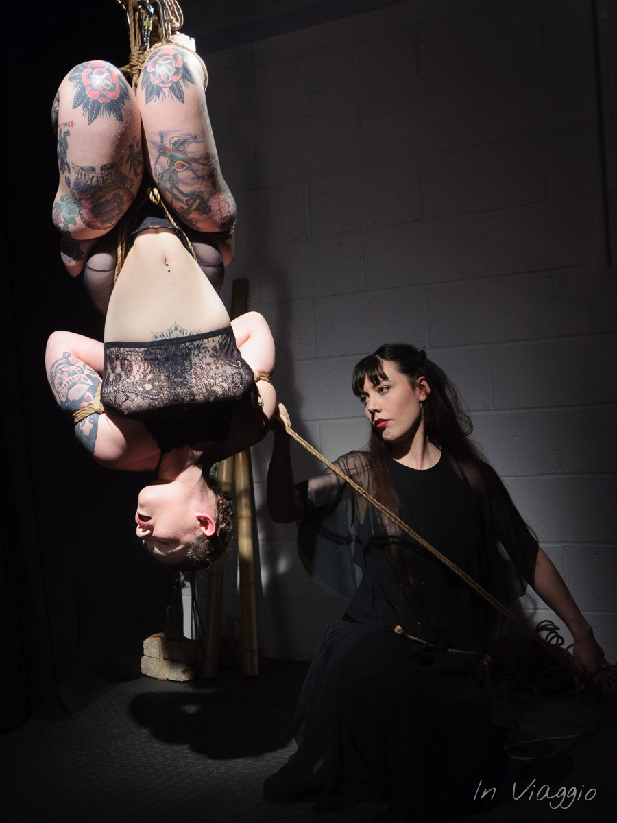 Rope by Gestalta, Model Sophia, Shibari Performance at The Soap Box, London