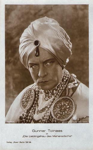 Gunnar Tolnaes in Die Lieblingsfrau des Maharadscha (1926)