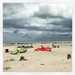 Un sabato da leoni #kitesurf #mare #spiaggia #vento #onde #surf #sport