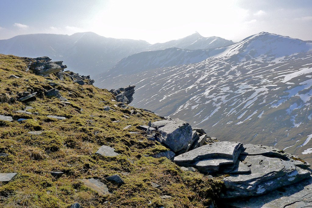 The Attadale Hills from Sgurr Choinnich