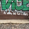"""i do what the fuck i does"" #detroit #easternmarket #graffiti #detroitart #detroitgraffiti #detroitstreetart #art #streetart"