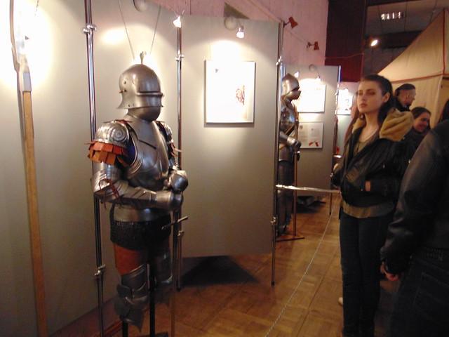 Сфотографуватися з середньовічним воїном