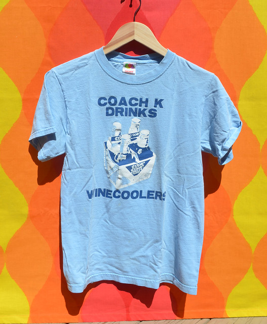 coach k drinks wine coolers