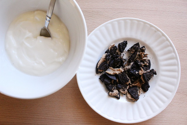 greek yogurt 52 ways: no. 9 cookie dough oreo