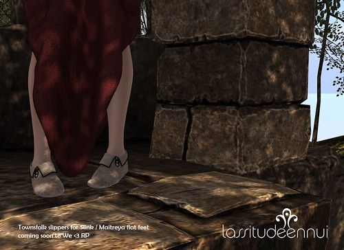 lassitude & ennui Townfolk slippers
