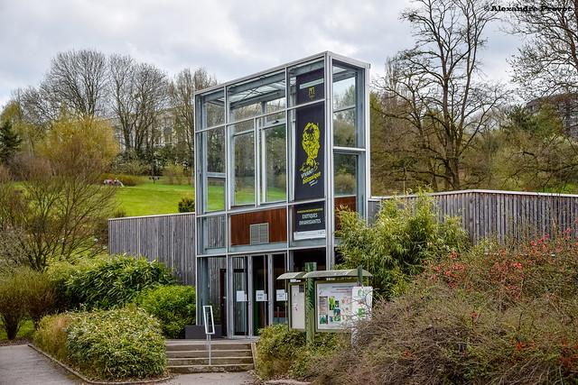 Pavillon d 39 accueil du jardin botanique du montet flickr for Boutique jardin botanique