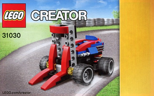 LEGO Creator 31030 Red Go-Kart ins03