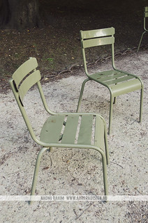 Jardin du Luxembourg chairs - Paris, France