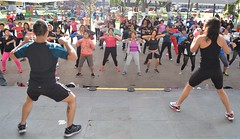 zumba, physical fitness, dance, person, physical exercise,