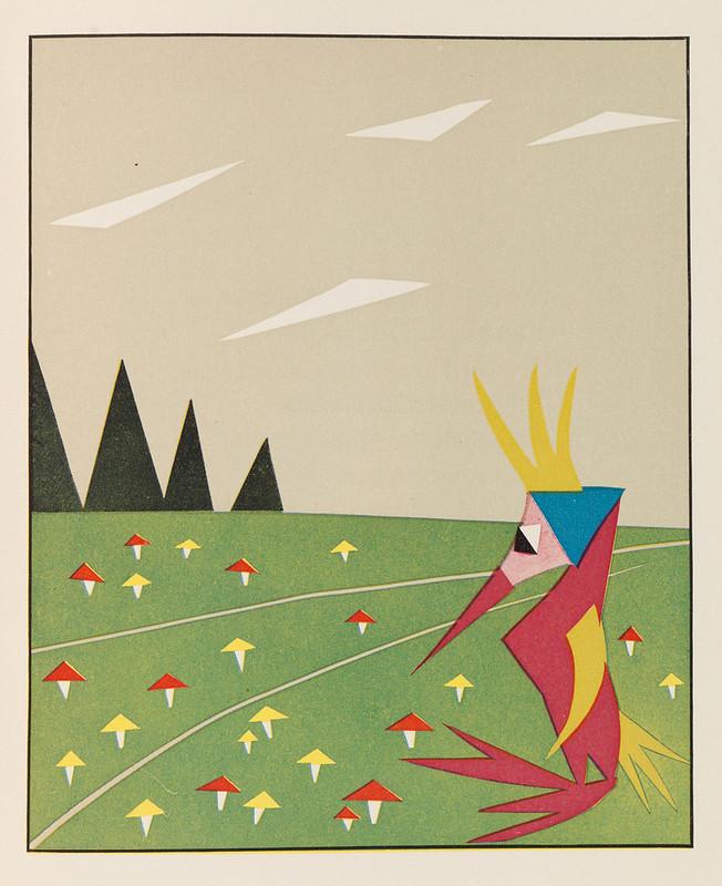 HILDE KRÜGER, Der Widiwondelwald, 1924