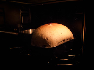 003 Baking of a rye bread