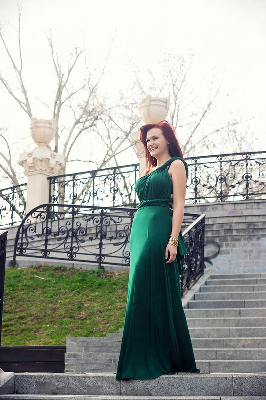 green maxi dress7