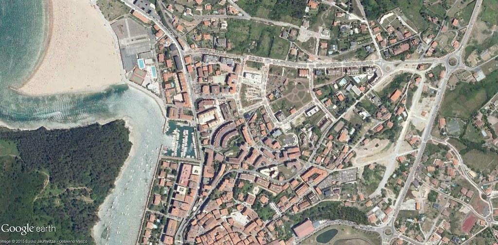 después, urbanismo, foto aérea,desastre, urbanístico, planeamiento, urbano, construcción,Plentzia, Bizkaia