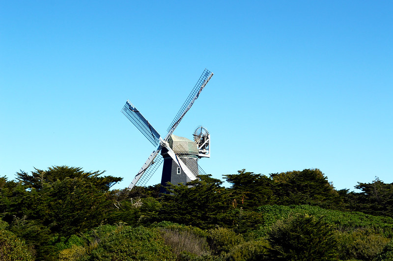 Golden Gate Park Windmills