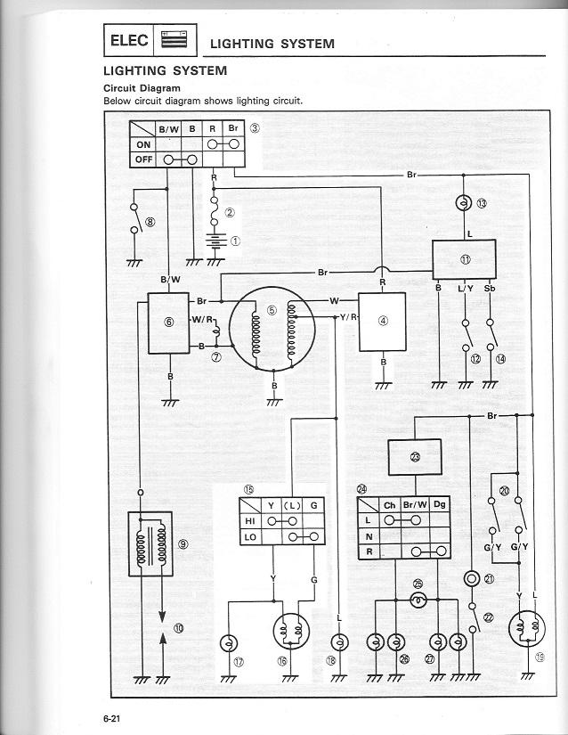 led headlight bulb replacement modules page 107 adventure rider the 1984 to 2000 xt250 xt350 has an ac headlight even though it has a battery the headlight is not on the same dc circuit as the battery