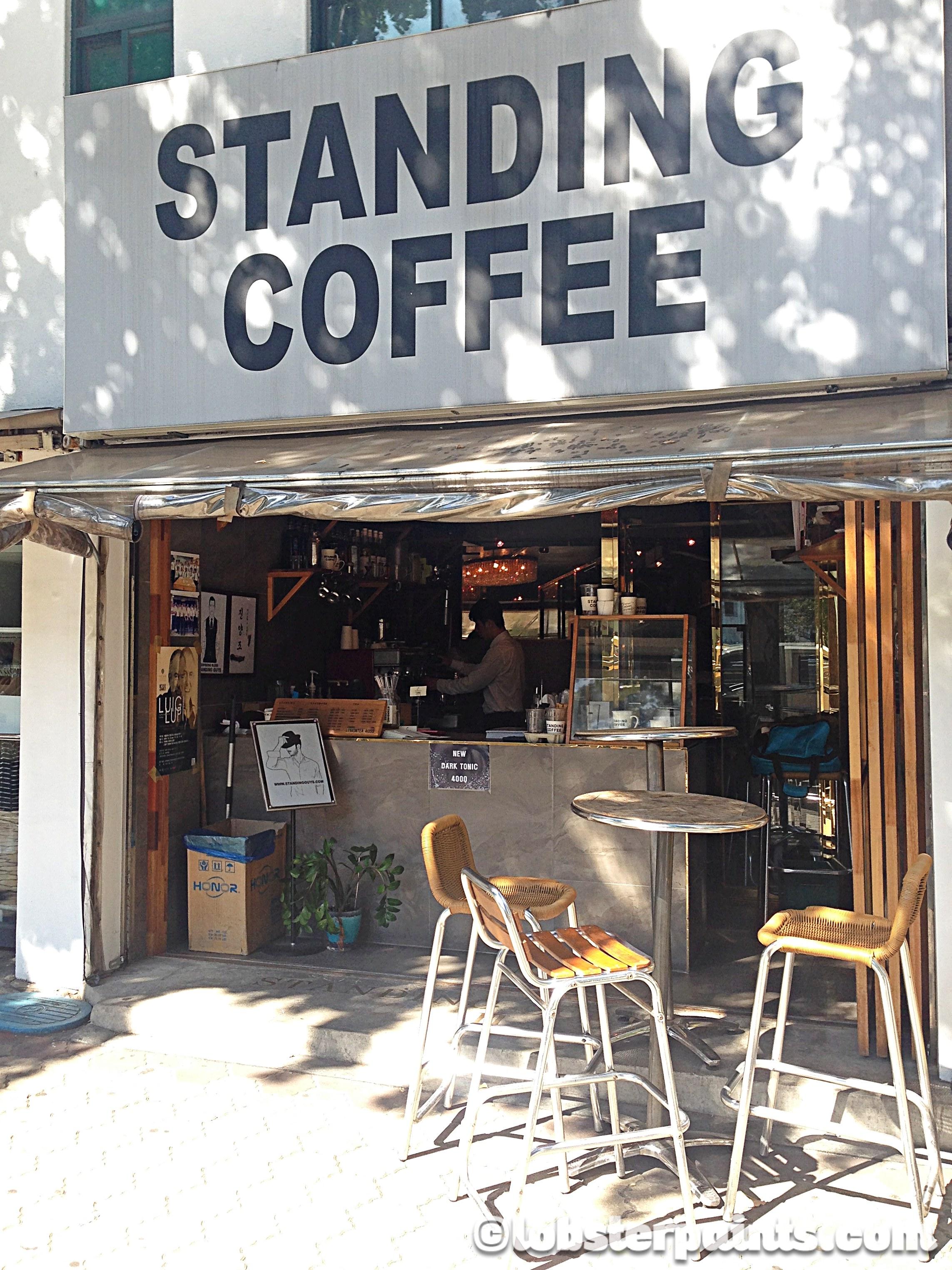 Standing Coffee (Seodaemun Station) | Seoul, South Korea