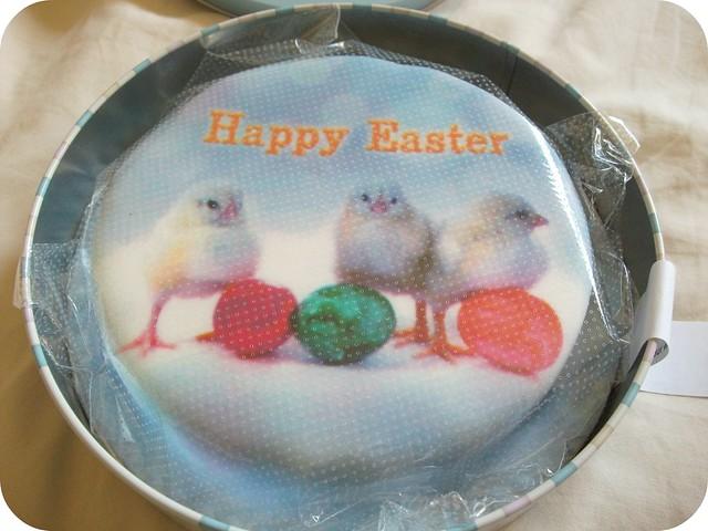 Baker Days Easter Chicks Cake
