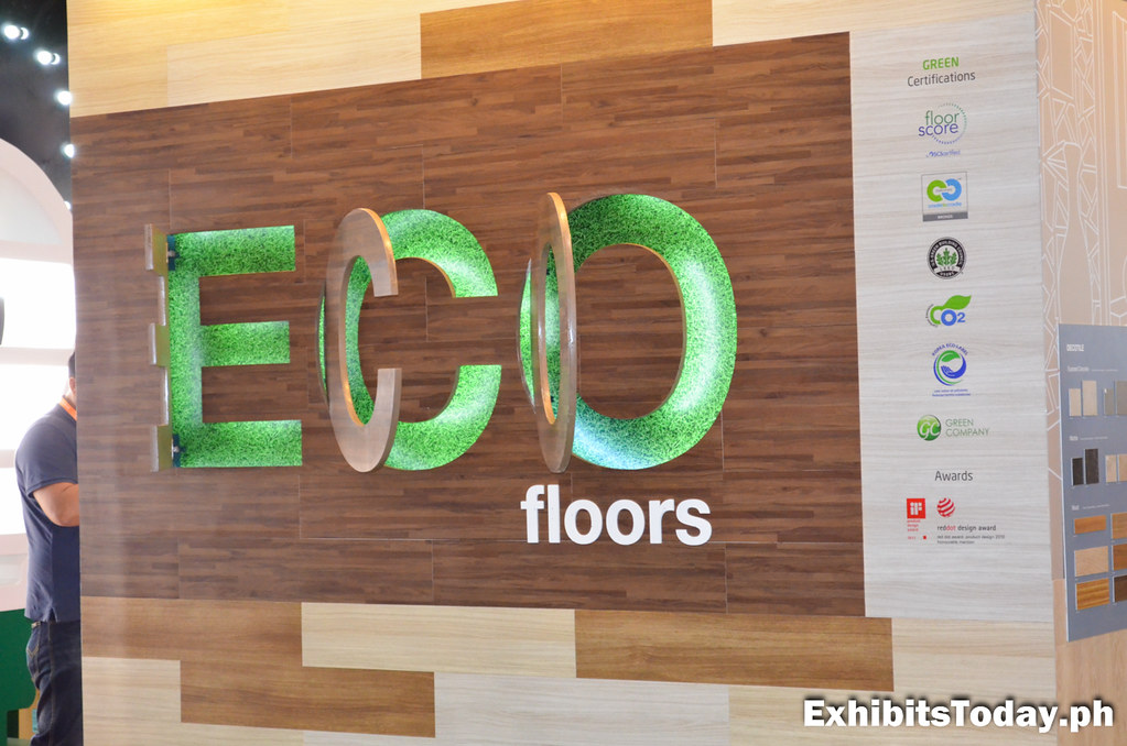 ECO Floors Display