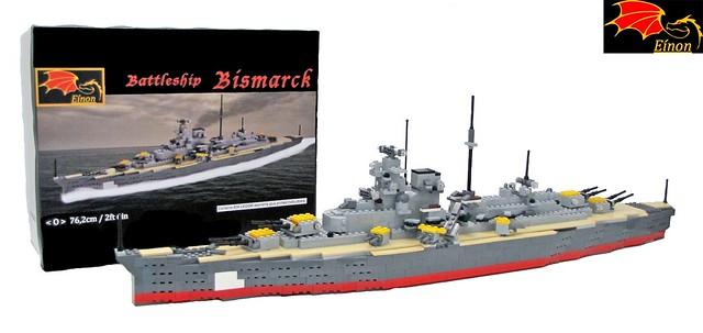 Battleship Bismarck + BOX
