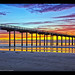 I Heart San Diego! Sunset at Scripps Pier in La Jolla, California.
