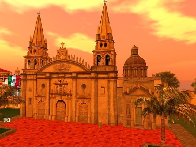Mexico -Lago de Chapala, Jalisco - Cathedral de Guadalajara