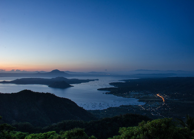 Taal Lake at Dawn