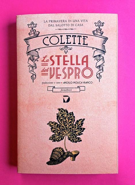 La stella del vespro, di Colette. Del Vecchio Editore 2015. Art direction, cover, illustrazioni, logo design: IFIX | Maurizio Ceccato. Copertina (part.), 1