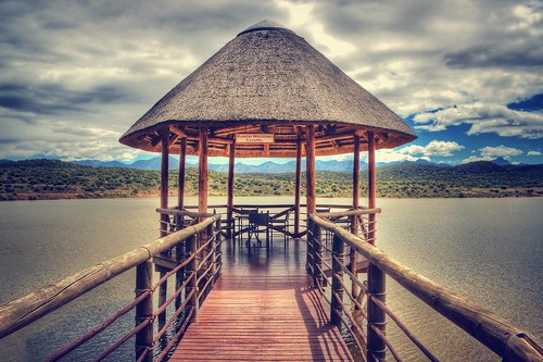 wedding lake southafrica wooden chapel lodge hdr photomatix canon600d