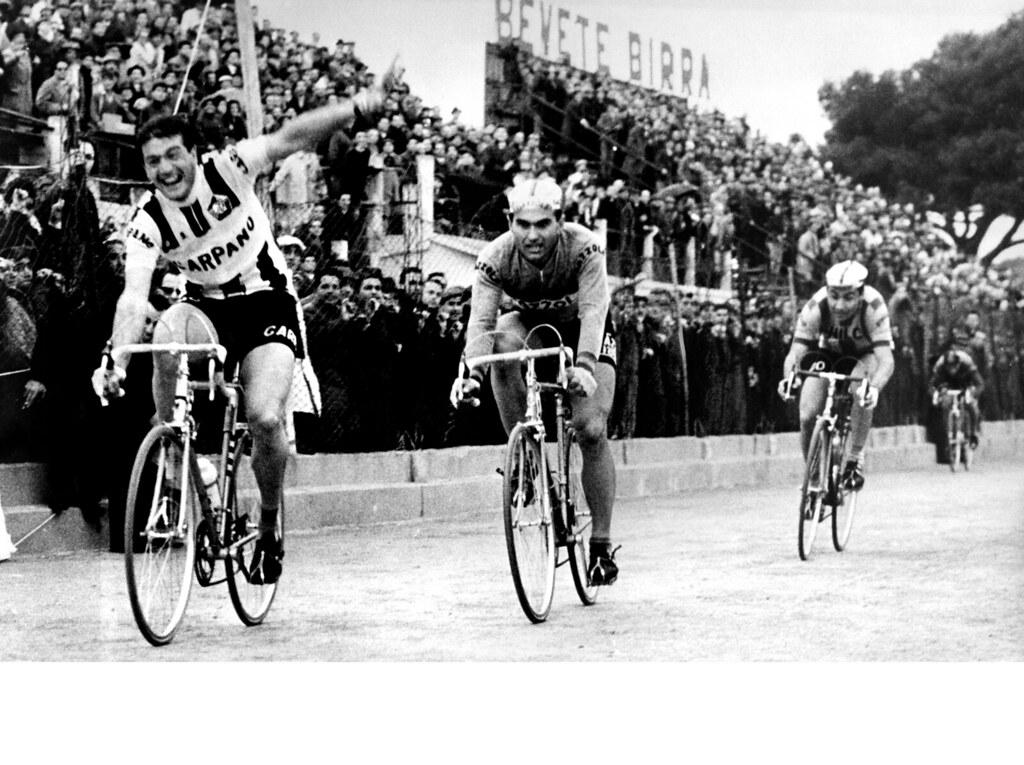 Giro Di Sardegna 1961 Arrivo a Cagliari